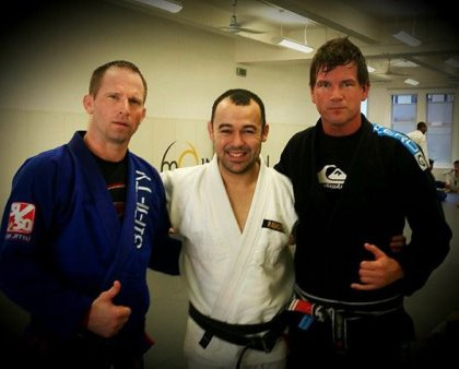 Training with Marcelo Garcia in New York City
