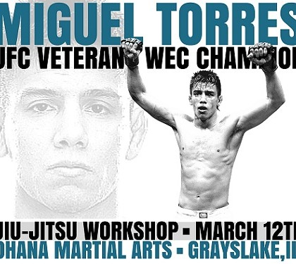 Miguel Torres Jiu-Jitsu Workshop