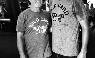 Legendary Boxing Coach Freddie Roach at Wild Card Boxing in Hollywood, California