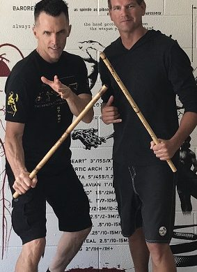 Training with Master Mark Mikita at his L.A. Academy