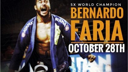 5X World Champion Bernardo Faria
