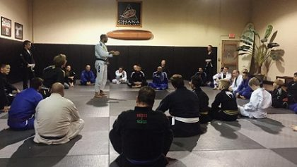 Bernardo Faria Workshop a Huge Success