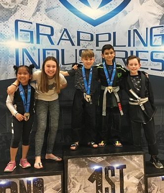 Youth BJJ Team Success